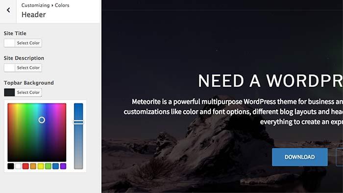 Meteorite terra themes